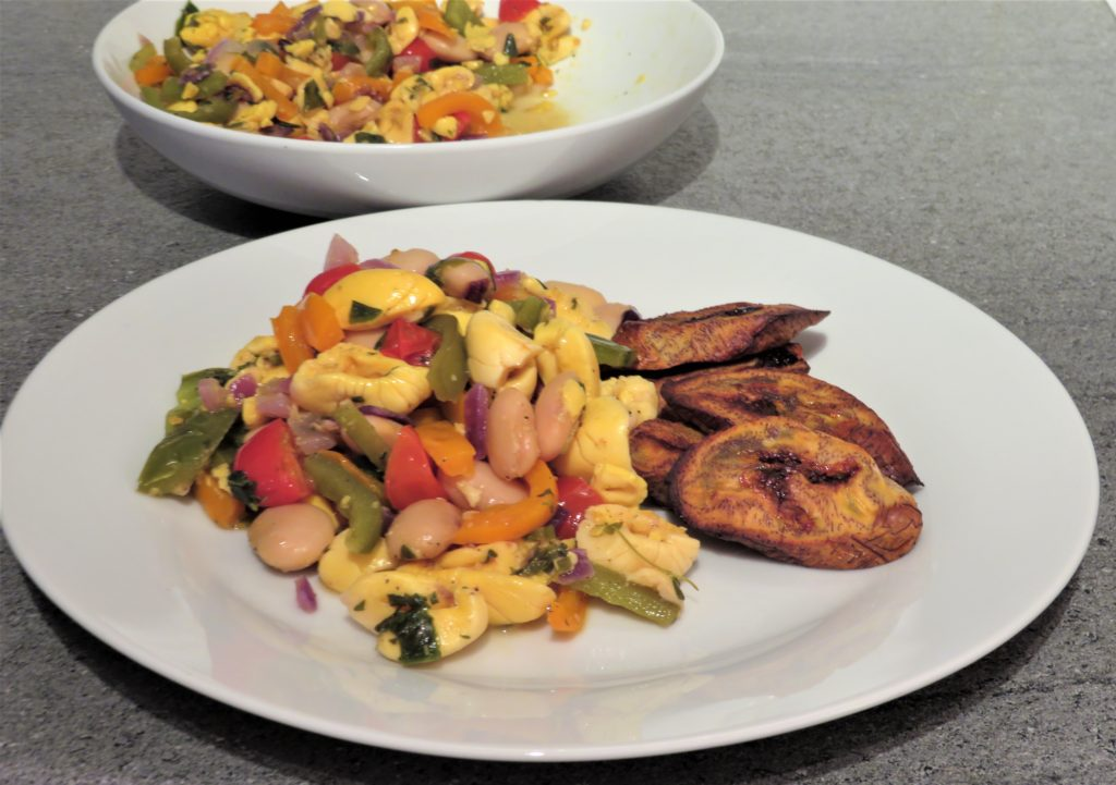 Ackee and butter beans rollin funky blog for Jamaican butter fish
